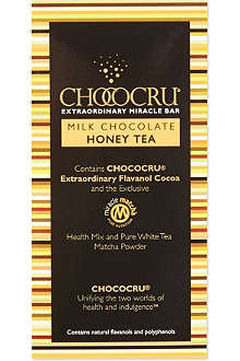 CHOCOCRU Milk chocolate honey tea 75g