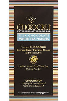 CHOCOCRU Milk chocolate tea bar 75g