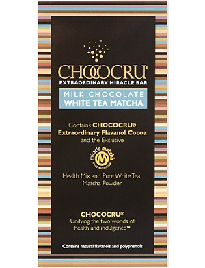 CHOCOCRU Milk chocolate tea bar 75g