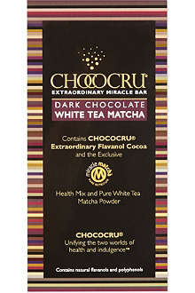 CHOCOCRU Dark chocolate tea bar 75g
