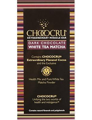 CHOCOCRU Dark chocolate tea bar 75g
