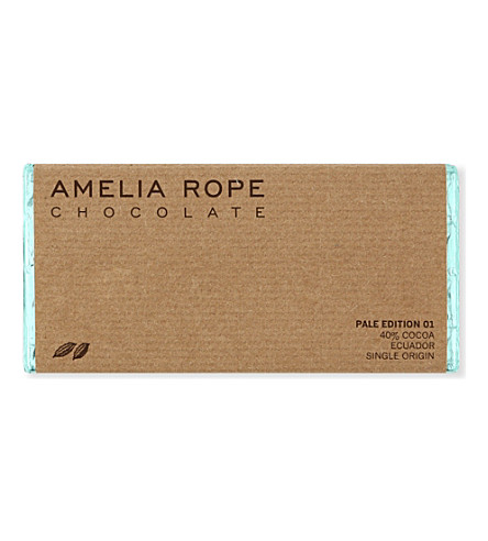 AMELIA ROPE Milk Ecuador chocolate bar 100g