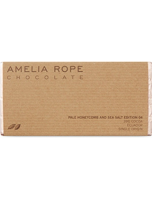 AMELIA ROPE Pale honeycomb and sea salt chocolate 100g