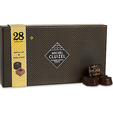 MICHEL CLUIZEL Dark and milk pralines gift set 305g