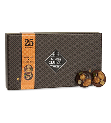 MICHEL CLUIZEL Chocolate mendiants gift box 260g