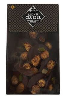 MICHEL CLUIZEL Dark and milk chocolate mendiants 150g