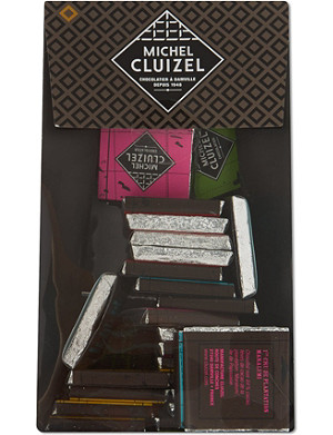 MICHEL CLUIZEL Dark plantation chocolates assortment 150g
