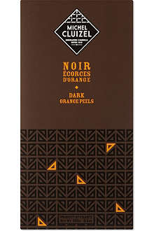 MICHEL CLUIZEL Noir Écorces D'orange chocolate