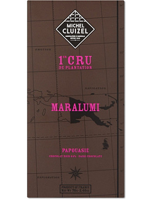 MICHEL CLUIZEL Maralumi dark chocolate 70g