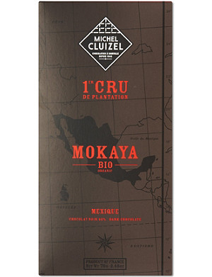 MICHEL CLUIZEL Mokaya organic dark chocolate 70g