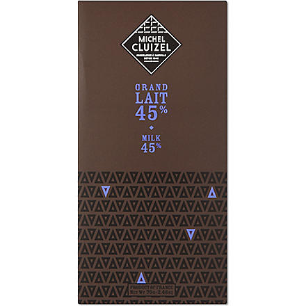 MICHEL CLUIZEL Grand Lait chocolate bar