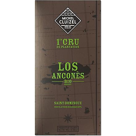 MICHEL CLUIZEL Los Ancones organic dark chocolate 70g