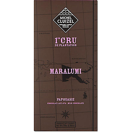 MICHEL CLUIZEL Maralumi milk chocolate