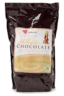 JM POSNER Finest Belgium white chocolate 900g