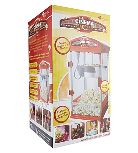 JM POSNER Halogen popcorn machine