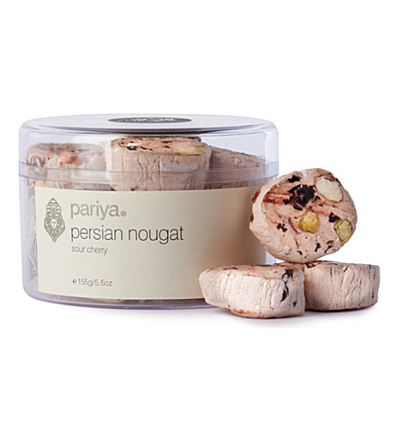 PARIYA Persian nougat sour cherry 155g