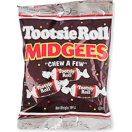 Tootsie roll Midgees bag
