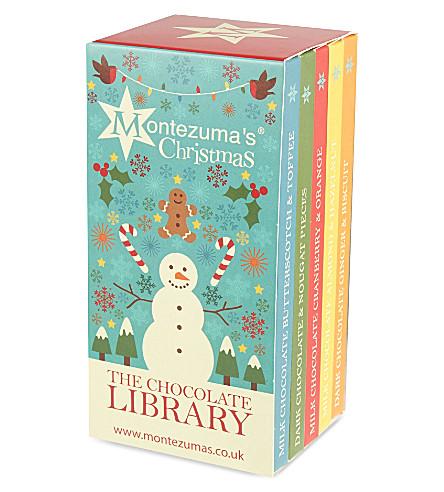 MONTEZUMAS The Chocolate Library 500g