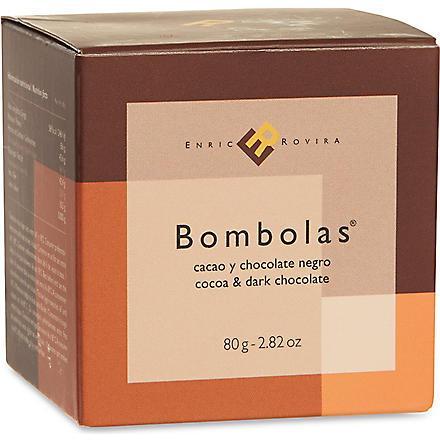 ENRIC ROVIRA Dark chocolate and cocoa bombolas 80g