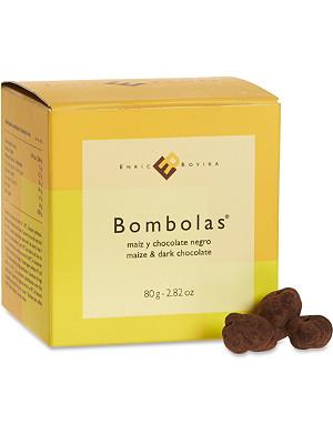 ENRIC ROVIRA Dark chocolate and maize bombolas 80g