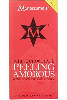 MONTEZUMAS Peeling amorous white chocolate 100g