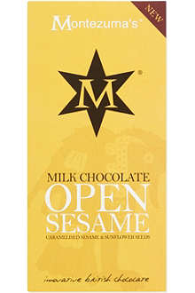 MONTEZUMAS Open sesame milk chocolate 100g