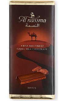 AL NASSMA Camel milk chocolate bar with Dates 70g