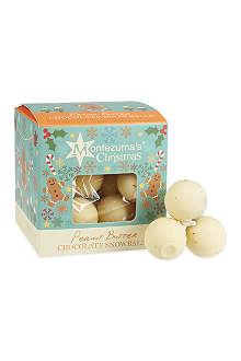 MONTEZUMAS Peanut butter chocolate snowballs 150g