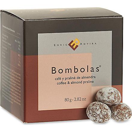 ENRIC ROVIRA Coffee and almond praline bombolas 80g