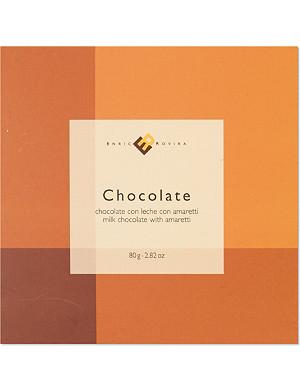 ENRIC ROVIRA Milk chocolate with amaretti 80g
