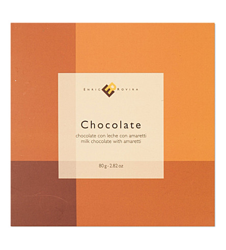 ENRIC ROVIRA Milk chocolate with amaretti 80g