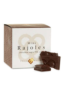ENRIC ROVIRA Dark chocolate mini rajoles