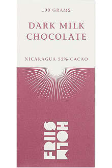 FRIIS HOLM Dark milk chocolate 100g