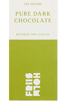 FRIIS HOLM Rugoso dark chocolate 100g