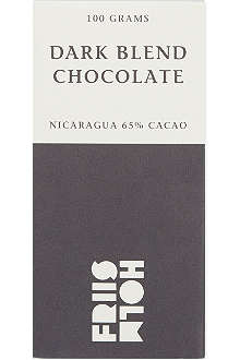 FRIIS HOLM Dark blend chocolate 100g