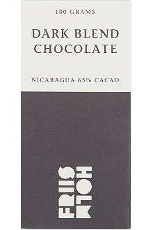 FRIIS HOLM Dark blend chocolate 100g