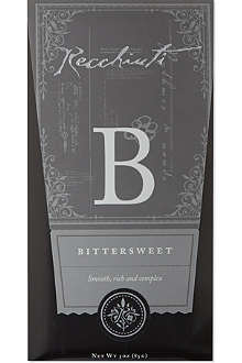 RECCHIUTI Bittersweet chocolate bar 85g