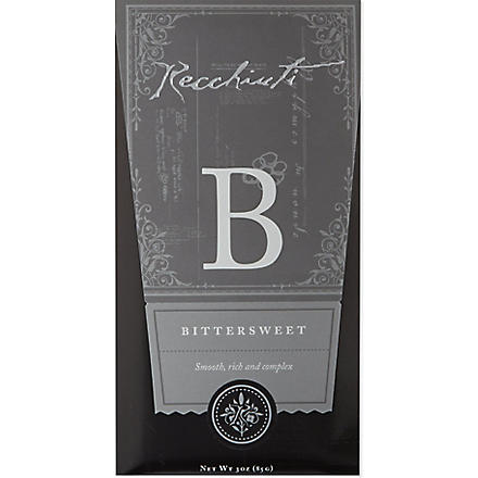 RECCHIUTI Bittersweet chocolate bar 85g