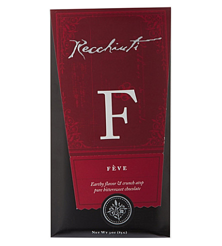 RECCHIUTI Feve chocolate bar 85g