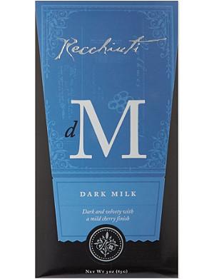 RECCHIUTI Dark milk chocolate 85g