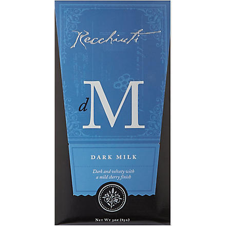 RECCHIUTI Dark milk chocolate 85g