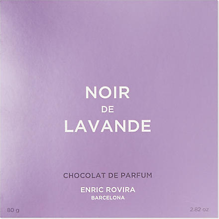 ENRIC ROVIRA Dark chocolate with lavender 80g