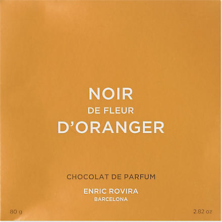 ENRIC ROVIRA Dark chocolate with orange blossom 80g