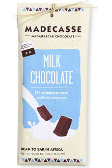 MADECASSE Milk chocolate 75g