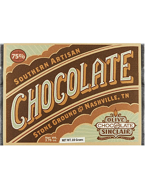 OLIVE & SINCLAIR Southern Artisan dark chocolate bar 80g