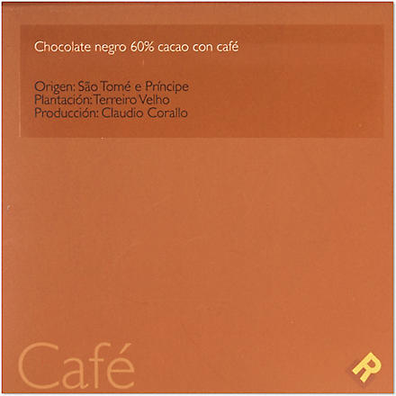 ENRIC ROVIRA Dark chocoloate cocoa with coffee 100g