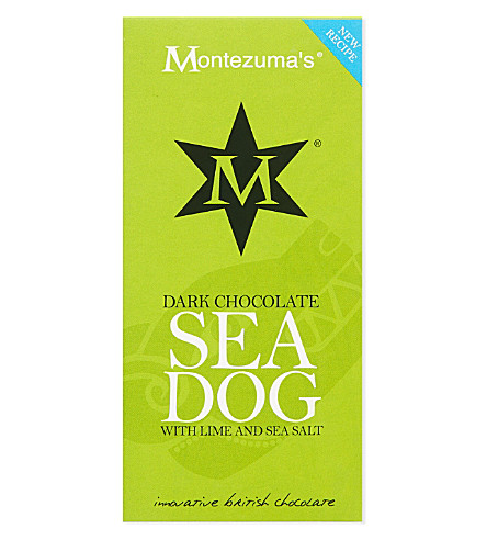 MONTEZUMAS Sea dog dark chocolate 100g