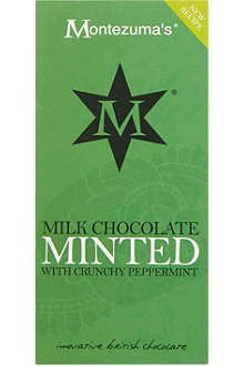 MONTEZUMAS Minted milk chocolate 100g