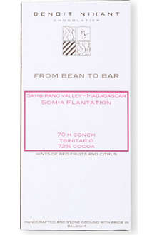 BENOIT NIHANT Organic Madagascar 72% cocoa dark chocolate bar