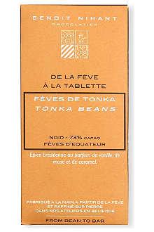 BENOIT NIHANT Organic Tonka Beans dark chocolate bar